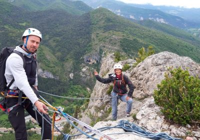 Climbing, the first steps on the big routes