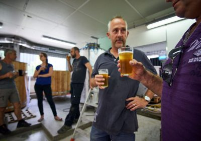 Brewery tours with beer tasting