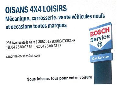 Oisans 4×4 Loisirs