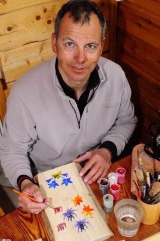 Rodolphe Candau at work