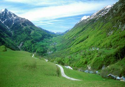 Col d'Ornon depuis La Paute (versant nord)