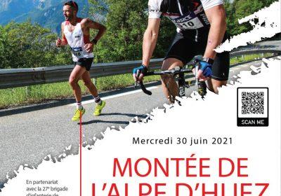 Alpe d'Huez ascent of thr 93° Mountain artillery Regiment